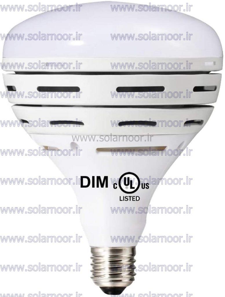 در حال حاضر، لامپ ال ای دی دیمردار به صورت دو حالته یا سه حالته ساخته می شود که با خاموش روشن کردن آن شدت نور تغییر می کند. در نوع جدیدتر لامپ ال ای دی دیمردار، امکان تغییر رنگ لامپ نیز علاوه بر تغییر شدت نور وجود دارد.