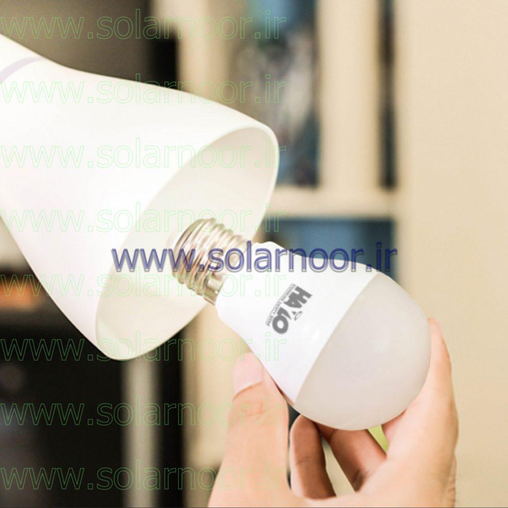 لامپ 5 وات ال ای دی در بیشتر موارد با چیپ SMD تولید شده و در بازار عرضه می شود. استفاده از چیپ ال ای دی SMD باعث می شود لامپ، بیشترین میزان زاویه پخش نور را داشته باشد و محیط اطراف را به خوبی روشن کند.