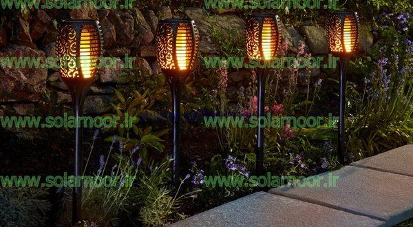 چراغ خورشیدی باغی